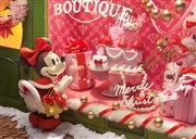 Disney Minnie Mouse Christmas Window Shopping 3D Lenticular Greeting Card