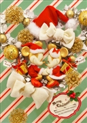 Disney Mickey and Minnie Christmas Wreath 3D Lenticular Greeting Card