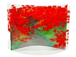 Fabulous Autumn Leaves Pop Up Greeting Card