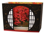 Window Of Enlightenment Autumn Blossom Multipurpose Pop Up Greeting Card