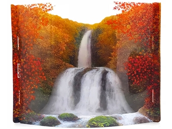 Autumn Leaves Brilliant Show Of Colors Pop Up Greeting Card