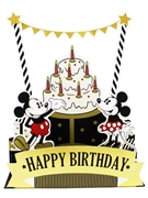 Mickey and Minnie Pop Up Birthday Card