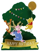 Disney Winnie the Pooh Pop Up Birthday Card