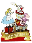 Disney Alice in Wonderland Disney Pop Up Birthday Card