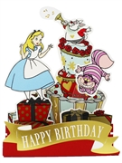 Disney Alice in Wonderland Pop Up Birthday Card