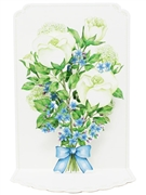 White Roses Bouquet For You Pop Up 3D Greeting Card