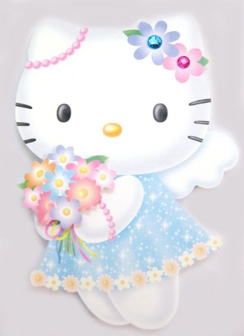 Hello kitty angel gift greeting card birthday card birthday premium hello kitty angel gift greeting card m4hsunfo