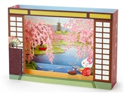 Hello Kitty Zen Garden Cherry Blossom Pop Up Box 3D Card