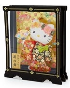 Hello Kitty Fan Dance Decorative Pop Up Greeting Card