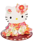 Hello Kitty Wearing Kimono Pop Up Greeting Card