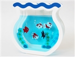 Pop Up Goldfish Bowl Greeting Card