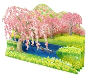 Cherry Blossom Splendor Pop Up Decorative Greeting Card