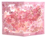Charming Cherry Blossom Floral Pop Up Greeting Card