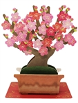 Ume (Plum) Blossom Bonsai Tree Multipurpose Pop Up Greeting Card