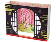Window Of Enlightenment Cherry Blossom Multipurpose Pop Up Greeting Card