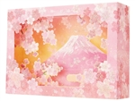 Laser Cut Perfectly Pink Cherry Blossom 3D Pop Up Box Greeting Card