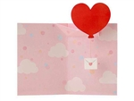 Mini Heart Pop Up Greeting Card