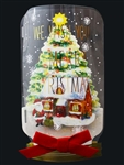Christmas In A Jar Snow Globe Pop Up Greeting Card