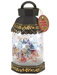 3D Lantern Lights and 20 Melodies Pop Up Christmas Card