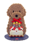 Doggy Lights and Melody Pop Up Birthday Greeting Card