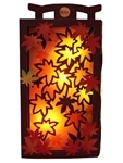 Autumn Leaves Grandeur Multipurpose Pop Up Lights and Melody Greeting Card