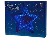 Happy Birthday Kaleidoscope Star Lights and Melody Pop Up Greeting Card
