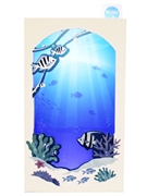 Underwater Calming Ocean Sound and Lights Multipurpose Pop Up Card