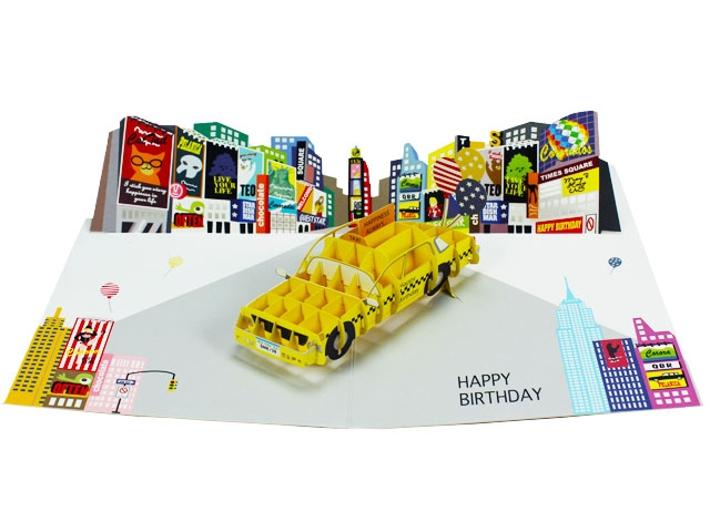 Happy birthday laser cut new york city pop up greeting card premium happy birthday laser cut new york city pop up greeting card m4hsunfo