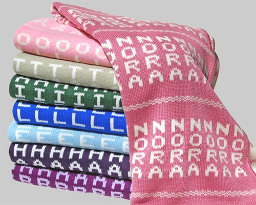 Custom baby blankets baby blanket personalized custom blanket lady keep your baby negle Images
