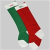 Classic Red or Green Stocking