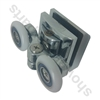Replacement Shower Door Rollers-SDR-KR-DUB-T-Top