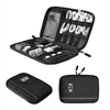 Black BAGSMART Travel Universal Cable Organizer Electronics Accessories Cases For Various USB, Phone, Charger and Cable