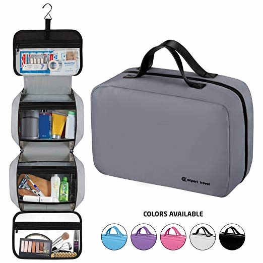 a57faa03c9 Premium Hanging Toiletry Bag Travel Kit for Men and Women ...