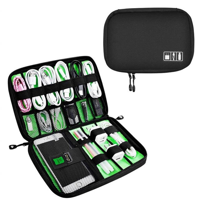 World travel organizer cable bag for Travel and Houseware Storage-Yuemi small Electronics Accessories cases.