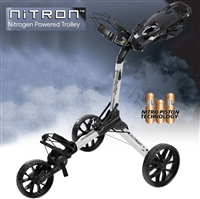 Nitron Auto-Open Golf Push Cart