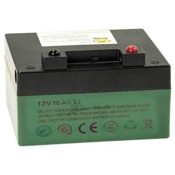 Battery - Bat-Caddy Golf Cart, Lithium - 16Ah