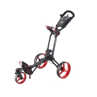 Big Max Z360 Golf Push Cart with Swivel Wheel