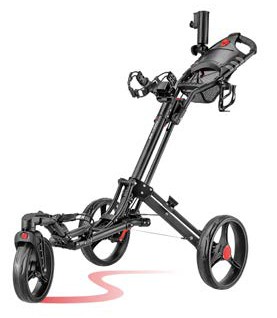 CaddyLite One-Click Swivel - Golf Push Cart