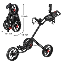 CaddyLite 15.3 - Golf Push Cart