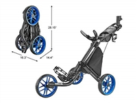 CaddyLite EZ Golf Push Cart