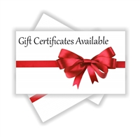Gift Certificate - Sunrise Golf Carts
