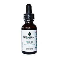 CBD Hemp Oil - Natural or Flavored