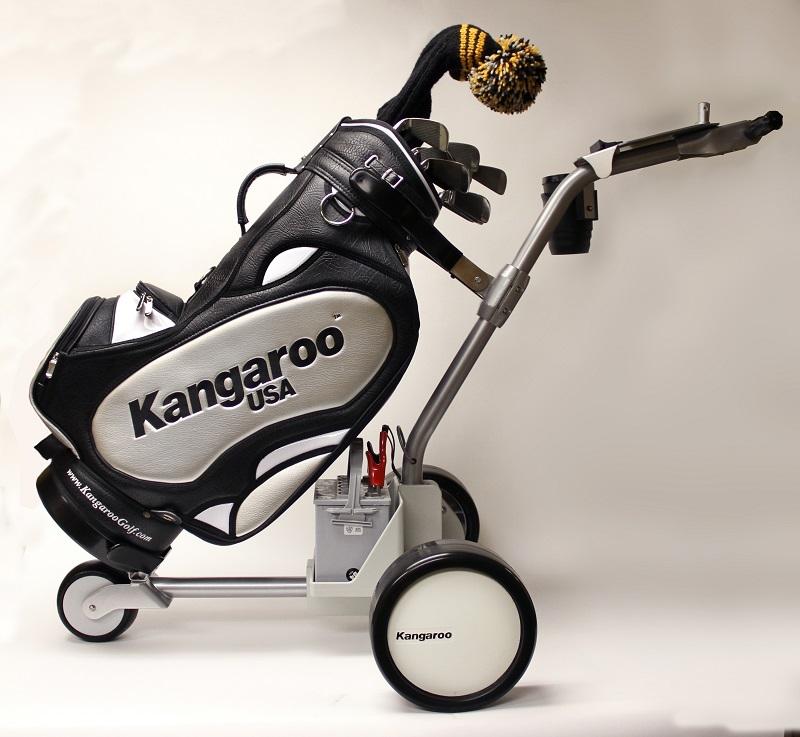 Electric Golf Caddy >> Kangaroo Caddy Model 5 Electric Caddy