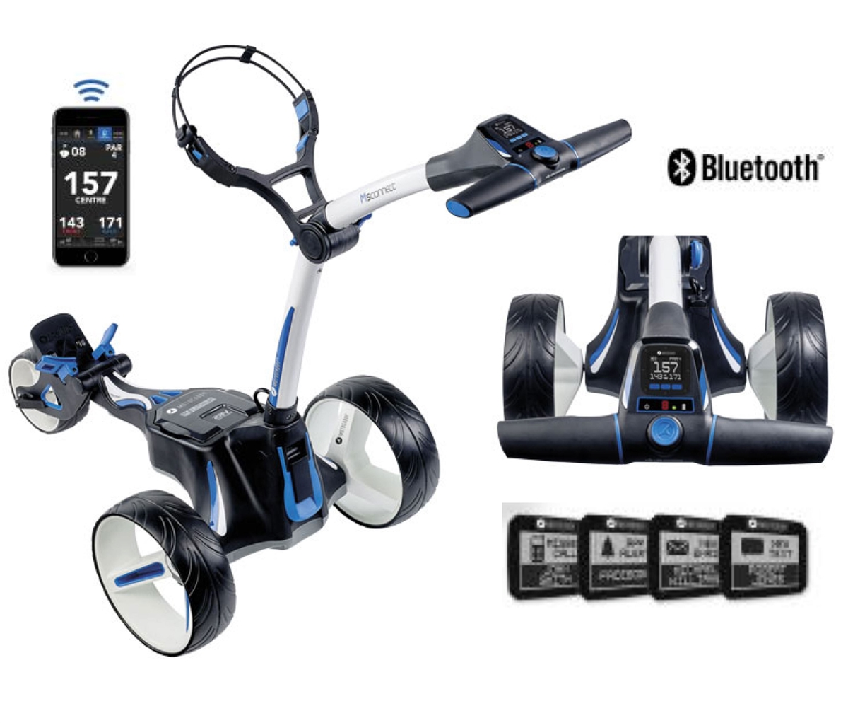 Electric Golf Caddy >> Motocaddy M5 Connect Lithium Battery Electric Golf Caddy