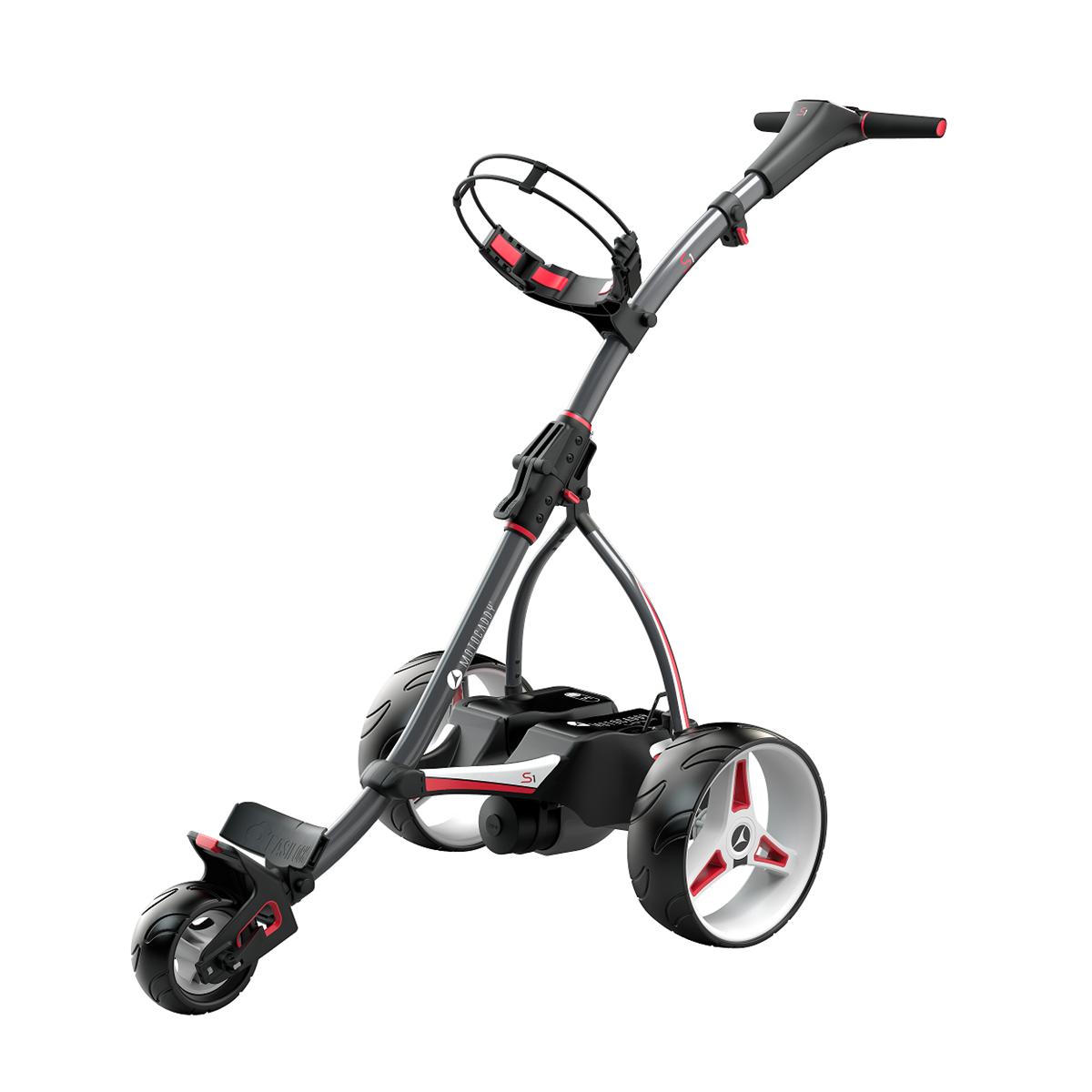 Electric Golf Caddy >> Motocaddy 2019 S1 Lithium Battery Electric Golf Trolley