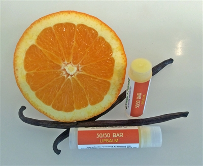 50/50 Lip Balm (Orange Vanilla)