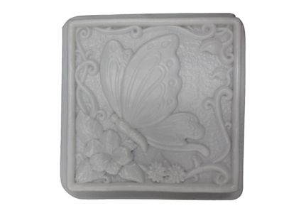 Butterfly concrete or plaster mold 1003