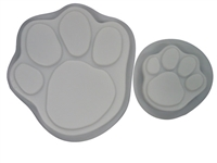 Paw Stepping Stone concrete mold set 1009