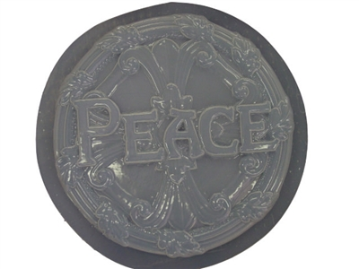 Peace concrete or plaster mold 1016