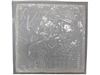 King card concrete plaster mold 1023